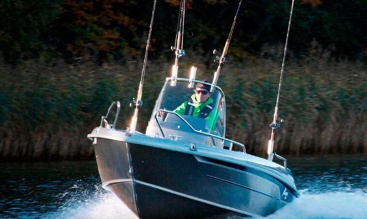 Катера для рыбалки во Франции
