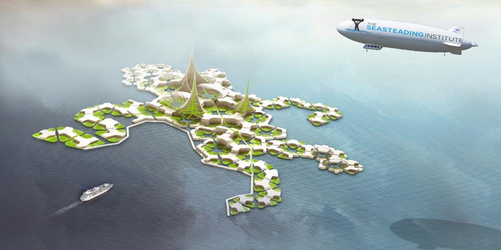 Французская Полинезия готовится к строительству плавучего острова