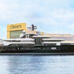 {:ru}На воду спущена 120-метровая мега-яхта «Project Thunder»{:}{:ua}На воду спущена 120-метрова мега-яхта «Project Thunder»{:}