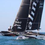 {:ru}Команда Alinghi выиграла второй этап Extreme Sailing Series{:}{:ua}Команда Alinghi виграла другий етап Extreme Sailing Series{:}